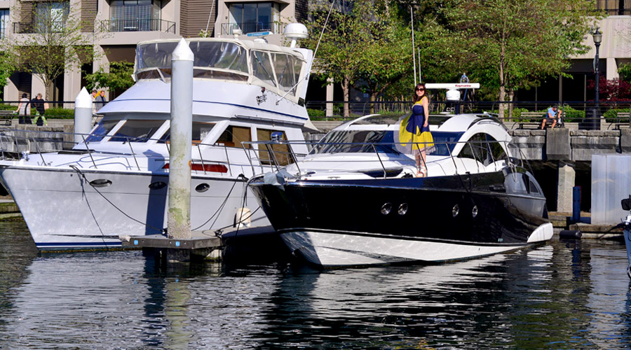 """Mimi"", is a 40-foot Marquis, Vancouver Charters Fishing Aquatic Venture"